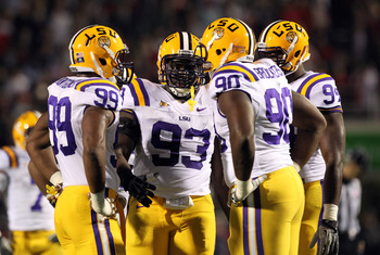 LSU returns potentially the nation's best DL unit, which should provide the Tide with its toughest test of the 2012 season.