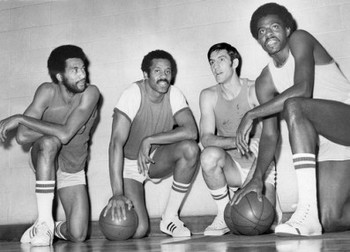 Norm Van Lier, Chet Walker, Jerry Sloan and Bob Love (from left to right) were &quot;Chicago-tough&quot; in the '70s.