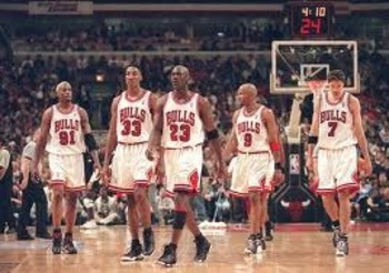 The Bulls teams of the '90s were the best in Bulls' history.