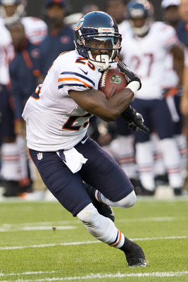 Armando Allen led the Bears in both rushing and receiving against the Browns.
