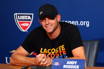 Even if he has been otherwise insignificant in the tennis world for some time, Roddick will be missed