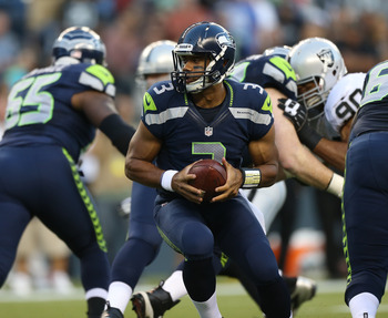 Russell Wilson is the surprise starter in Week 1 for Seattle