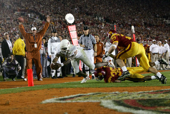 Michigan and Alabama could have a similar storyline to USC and Texas from the Rose Bowl of '06.