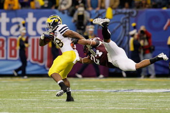If Fitzgerald Toussaint plays, the Wolverines will have a better shot at an early-season upset.