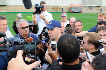 Bill O'Brien and Penn State will finally have something else to talk about.