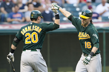 Slight of frame, Reddick packs a larger man's wallop at the plate