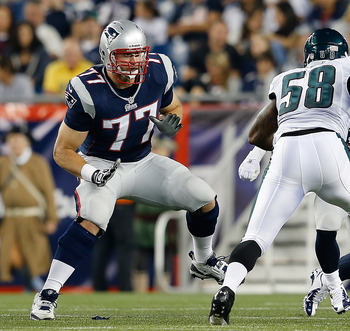 Nate Solder is key for New England's offensive line.