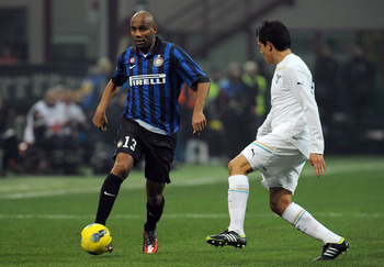 Maicon provides experienced strength for the back line.