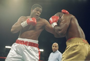 "Riddick ""Big Daddy"" Bowe is a former two time world heayweight champion."