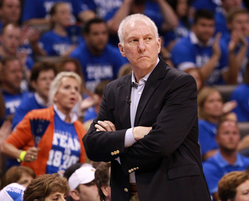 Gregg Popovich and the Spurs could be in for a rough season after a quiet offseason.