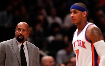 How Mike Woodson uses Carmelo Anthony could make or break his career with the Knicks.