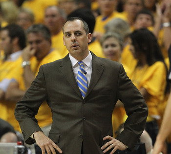 Frank Vogel's Pacers will seek to improve on their second round playoff exit last season.