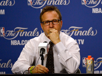 Scott Brooks guided his young Thunder team to the Finals last year, before losing to the Heat.