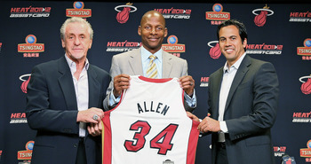 Erik Spoelstra and Pat Riley have brought Ray Allen to Miami to help out on the mission to repeat.