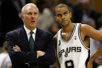 Gregg Popovich and Tony Parker will look to bounce back from last season's tough ending.