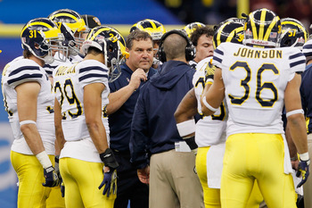Michigan would emerge as a serious national title contender with a win over Alabama.