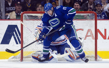 Ryan Kesler's absence could benefit the Canucks in the long run.