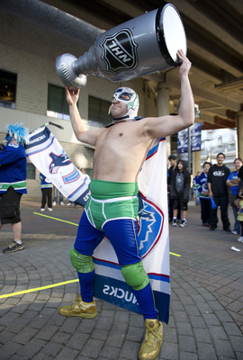 The Canucks don't lose at home in front of their passionate fans.