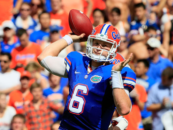 Jeff Driskel displayed some more poise in the pocket on Saturday.