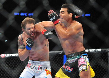 Lyoto Machida completely outclassed Ryan Bader standing last month.