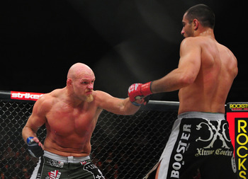 Keith Jardine's wacky striking has not led to many wins in recent years.