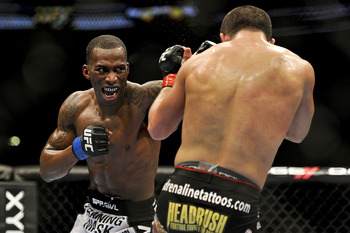 Anthony Njokuani's height and Muay Thai background make him a scary striker.