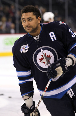 Dustin Byfuglien of the Winnipeg Jets.