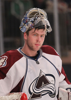 Semyon Varlamov of the Colorado Avalanche.