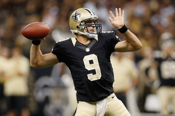 Drew Brees and the Saints take on the Packers in Week 4 at Lambeau Field