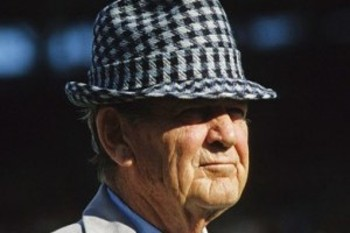 "Alabama coaching legend—and alumnus—Paul ""Bear"" Bryant (Photo: AP)"