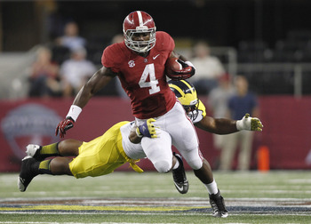 Yeldon is poised to have a huge year after Saturday's 111-yard debut performance.