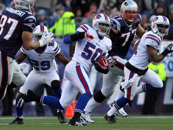Nick Barnett was a bright spot on a porous Bills defense in 2011.
