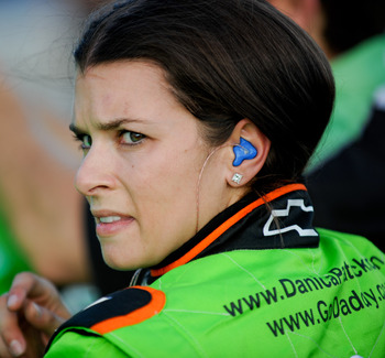 She may be overhyped, but Danica Patrick is slowly starting to live up to some of that hype -- and that's a good thing.