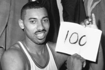 Wilt's 100-point game is just one reason he made the team.