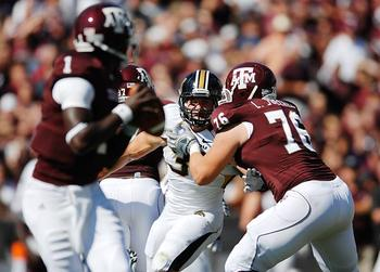 Luke Joeckel is the top offensive tackle in college football. Erin Stubblefield/Missourian