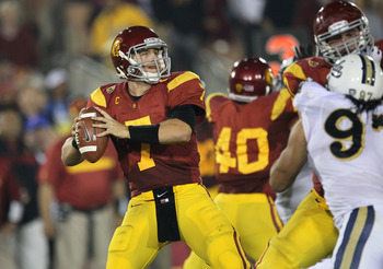 Matt Barkley is favored to be the No. 1 pick in the 2013 NFL Draft.