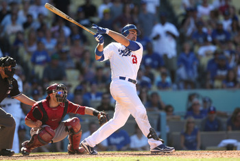 Adrian Gonzalez was acquired from the Red Sox.