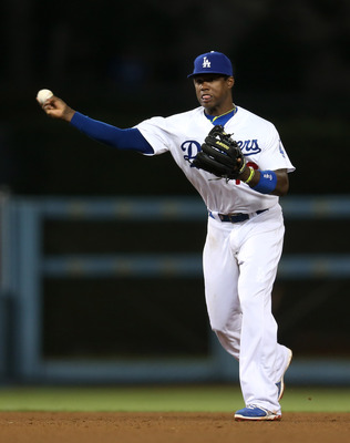 Hanley Ramirez has stepped in at shortstop for the Dodgers.