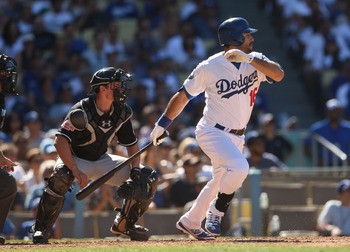 Andre Ethier has had trouble with left-handed pitching.