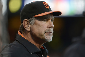 Giants manager Bruce Bochy is doing a great job.