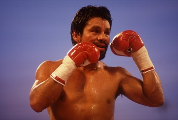 """Hands of Stone"" is considered one of the top ten fighters of all-time by most experts."