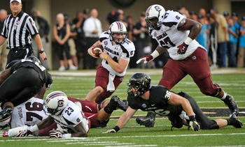 No. 9 South Carolina 17, Vanderbilt 13