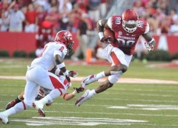 Jacksonville State 24, No. 10 Arkansas 49