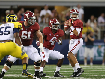 No. 8 Michigan 14, No. 2 Alabama 41
