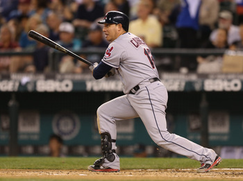 After a career year in 2011, Asdrubal Cabrera has hit just 14 HR with 53 RBI in 2012.