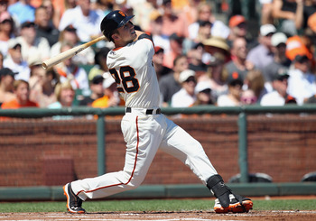 Catcher Buster Posey could be the only Giants player to end up with more than 15 home runs.