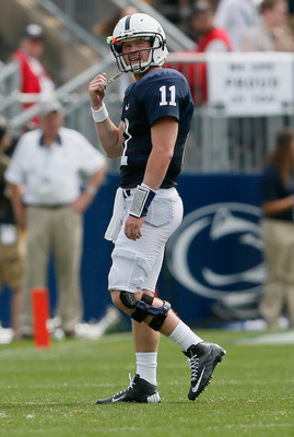 Matt McGloin put up decent numbers, but couldn't lead Penn State to victory against Ohio.