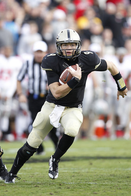 Robert Marve impressed in Purdue's season opening route of Eastern Kentucky.