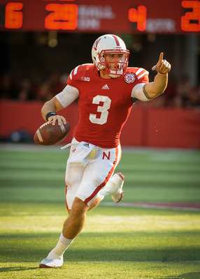 Taylor Martinez earns the No. 1 spot in the post-week one edition of the Big Ten quarterback power rankings.