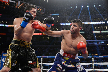 Ortiz quit on a fight for the second time in his career, this year against Josesito Lopez.